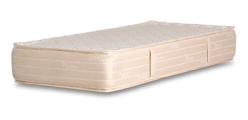 colchón 1 plaza la cardeuse platine 90x190