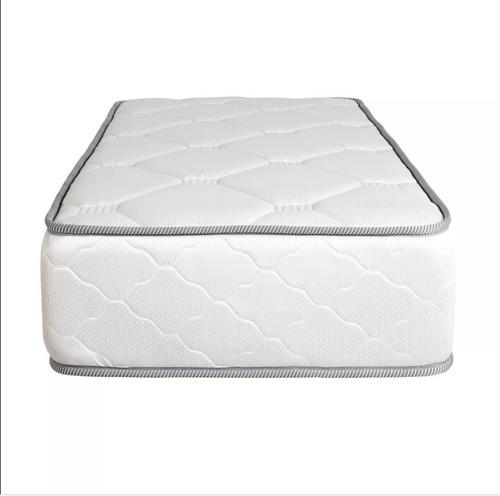 colchón 1 plaza multiflex espuma alta densidad  80 x 190 cm