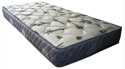 colchón 1 plza densidad 17cm de altura + almohada de regalo
