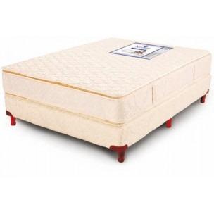 colchon 190x100 resortes madison con pillow