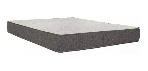 colchon 2 plaza 20cm alto capitoneado plancha entera robusta