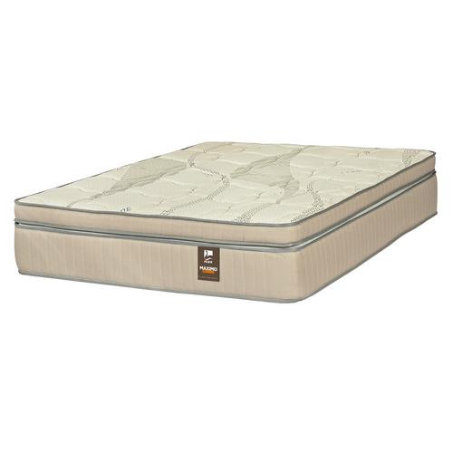 colchón 2 plazas box maximo cobre