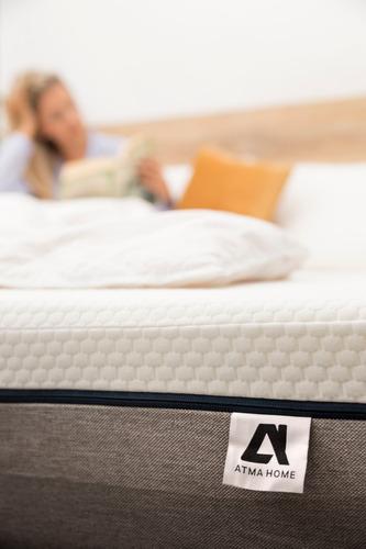 colchón 2 plazas de resortes atma home garantía 5 años