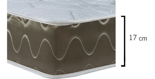 colchón 2 plazas espuma alta densidad colchones reversible