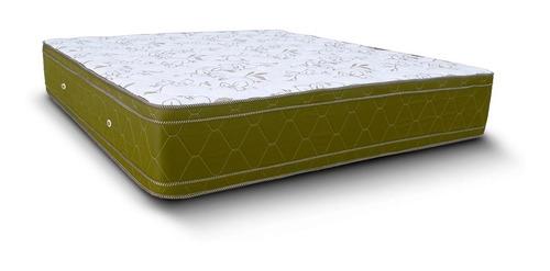 colchón 2 plazas natural soft sense 190x140x28 espuma pillow