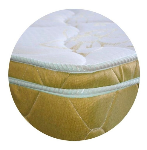 colchón 2 plazas natural soft sense 190x140x32 espuma pillow