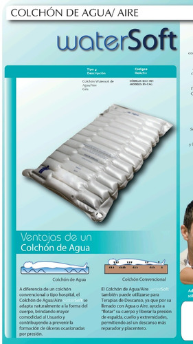 colchon agua aire antiescaras antillagas envio gratis