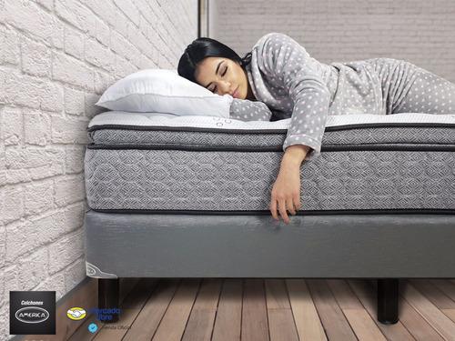 colchón américa individual doral marco perimetral envio grat