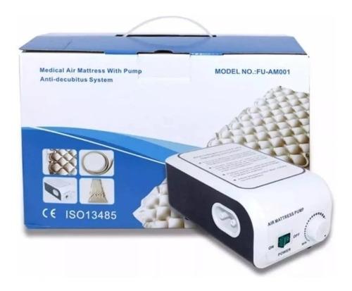 colchón antiescaras con motor + kit reparacion envio gratis