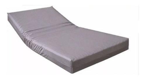 colchon antiescaras hospitalario + funda almohada antifluido