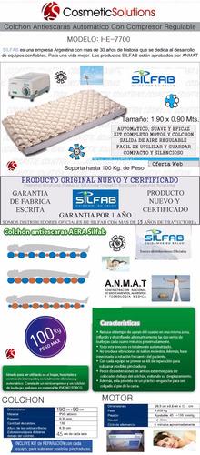 colchon antiescaras silfab automatico c/ compresor regulable