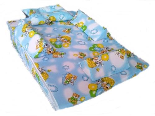 colchón antireflujo para bebe - niña 45x65x15  envio gratis