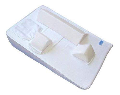 colchón antireflujo y cojines de seguridad ca1- blanco