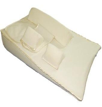 colchón antireflujo y cojines de seguridad m&m baby´store ca