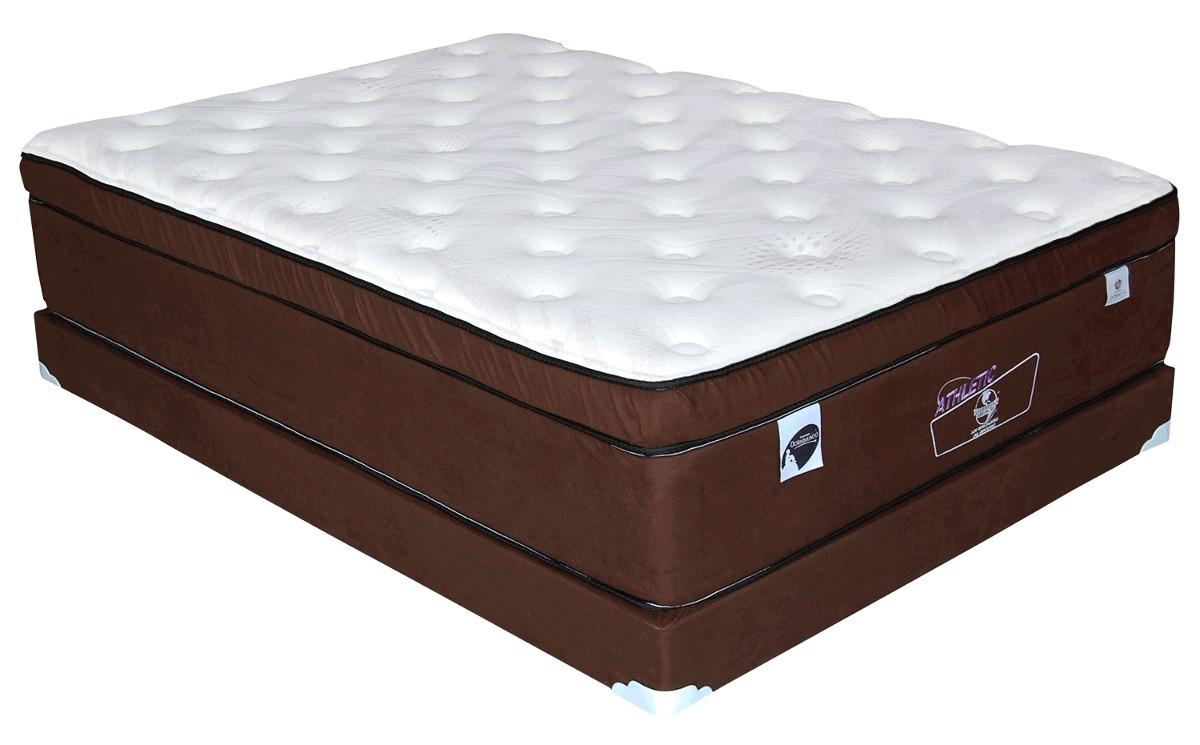 Colch n athletic matrimonial dormimundo c box 21 287 - Colchones para la espalda ...