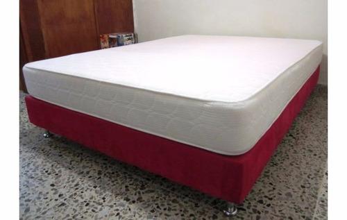 colchon + base cama somier + almohadas + envió oferta