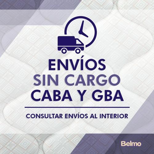 colchón belmo belspring 2 1 plaza 190x90