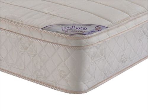 colchon belmo belspring pillow resortes 1 plaza 1/2 100x190