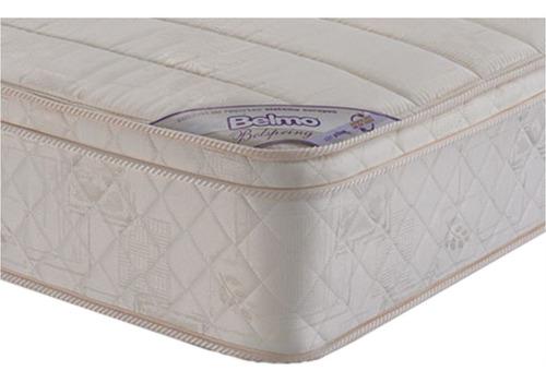 colchon belmo belspring pillow resortes 1 plaza 1/2 90x190