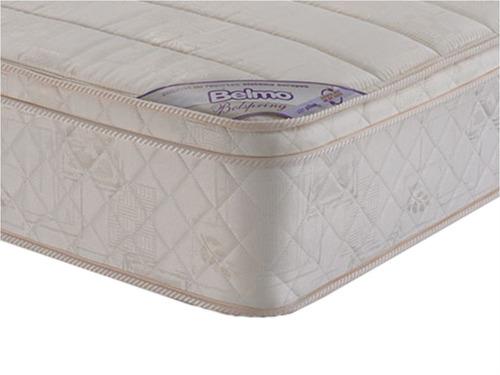 colchon belmo belspring pillow resortes 1 plaza 80x190x26