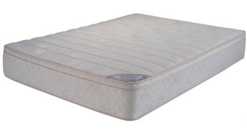 colchon belmo belspring pillow resortes 2 plazas 140x190x26