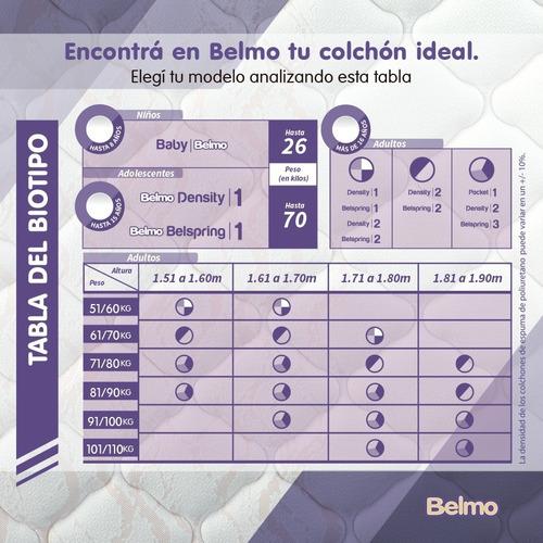 colchón belmo density 2 1 plaza 190x80