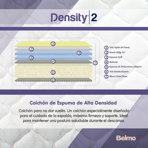 colchón belmo density 2 140x190