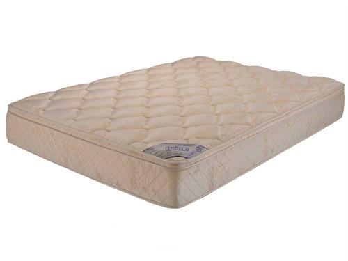 colchon belmo dorado pillow queen size 160x200x26 - 33 kg/m3