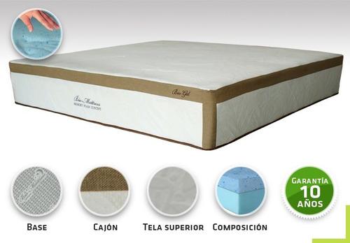 colchon bio mattress bio-gel memory foam gel king size con