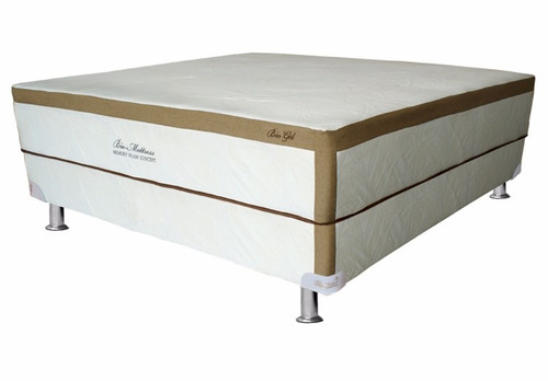 colchon bio mattress bio-gel memory foam gel queen size