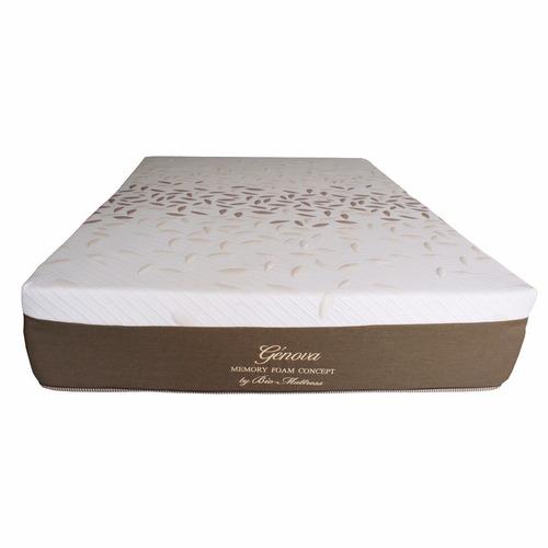 colchon bio mattress genova memory foam individual con box