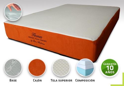 colchon bio mattress hermes memory foam queen size