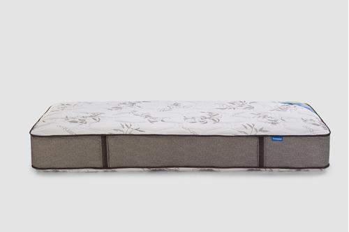 colchón boreal 80cm x 190cm 1 plaza suavestar resortes