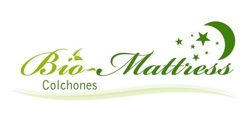 colchon + box bio mattress matrimonial cool-gel memory gel