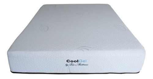 colchon + box bio mattress queen size cool-gel memory  gel