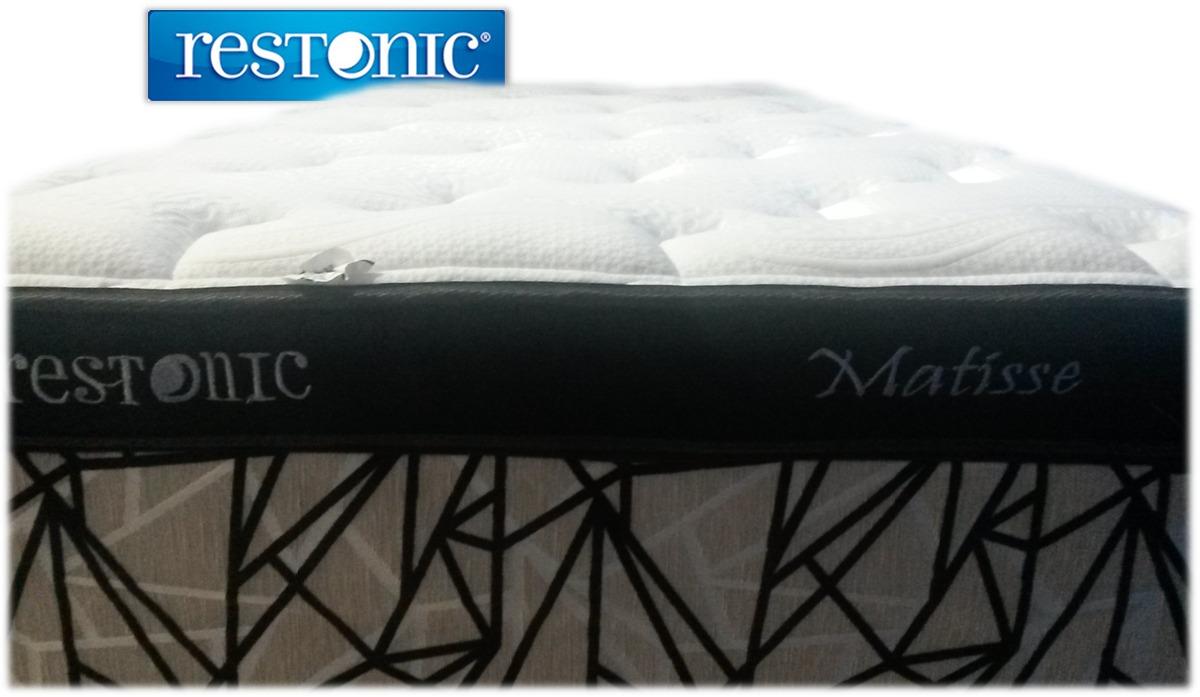 Colch n para cama king size matisse env o gratis restonic for Cama king size con colchon