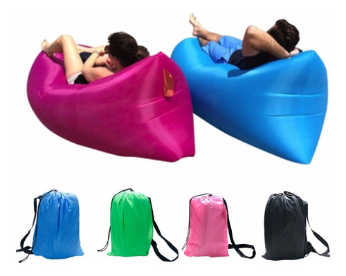 colchón camping inflable