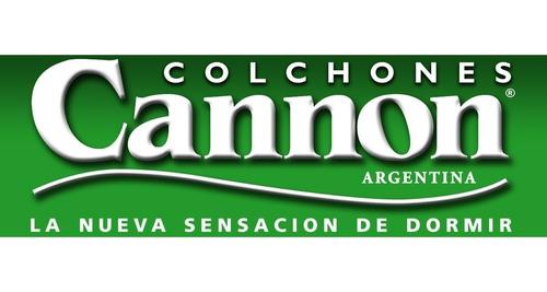 colchon cannon 1 plaza exclusive 80x190 espuma, entrega s/c*