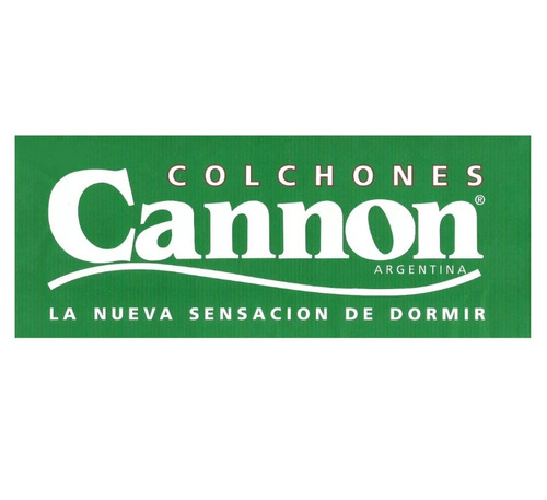 colchon cannon exclusive 1 plaza 190x80x25 30 kg densidad