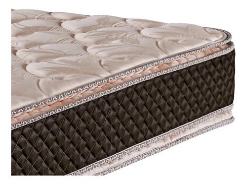 colchon cannon exclusive 190x100 con doble pillow top