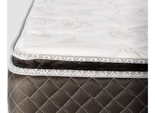 colchon cannon exclusive doble pillow 140x190 densidad 30k