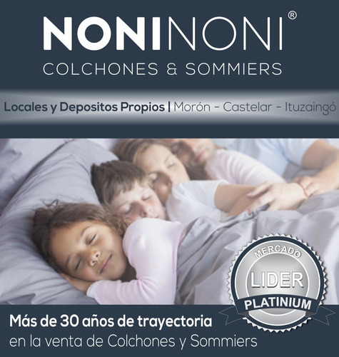 colchon cannon exclusive pillow 140 x 190 envio gratis caba