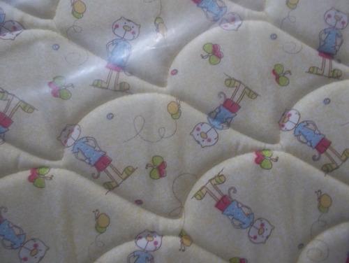 colchon cannon infantil  1.20 x 0.60 x 10 cm