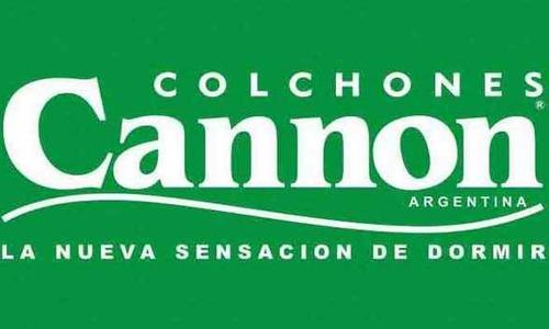 colchon cannon princess 2 plazas espuma 24k de alta densidad