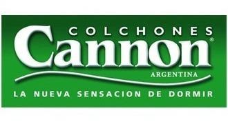 colchon cannon soñar 2 plazas 140 x 190 + 2 almohadas