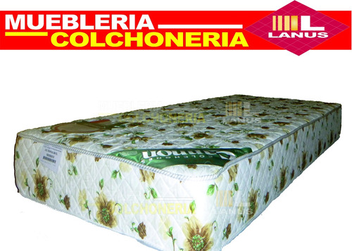 colchon cannon tropical 80x190x18 22kg densidad envio gratis