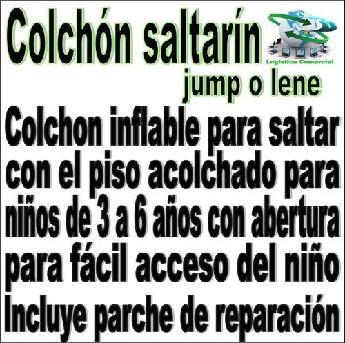 colchon centro saltarin intex jump o lene brinca 48264