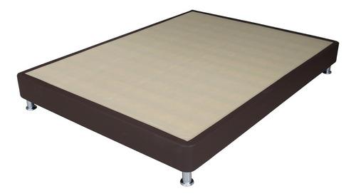 colchon classic semidoble 120x190+somier+cabecero+mesa noche