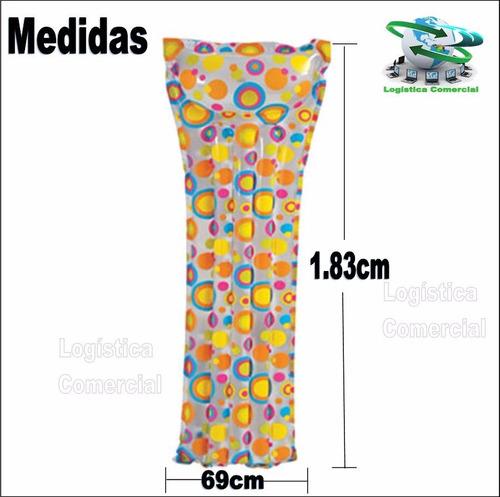 colchon colchoneta flotador inflable adulto intex 59711
