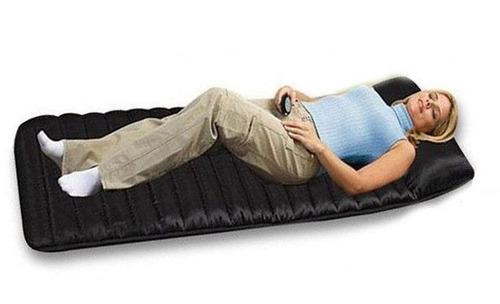 colchon colchoneta masajeador masaje relaja cuerpo cama sofa